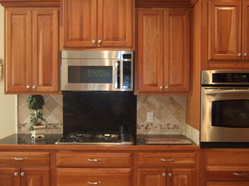 New Countertops and Cabinets