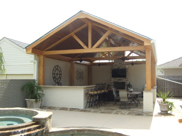 The New Poolhouse, Kitchen, and Bar