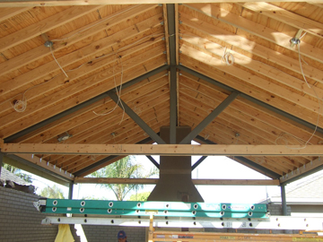 Ceiling During the Remodel